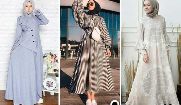 Model Baju Gamis Terbaru dan Kekinian